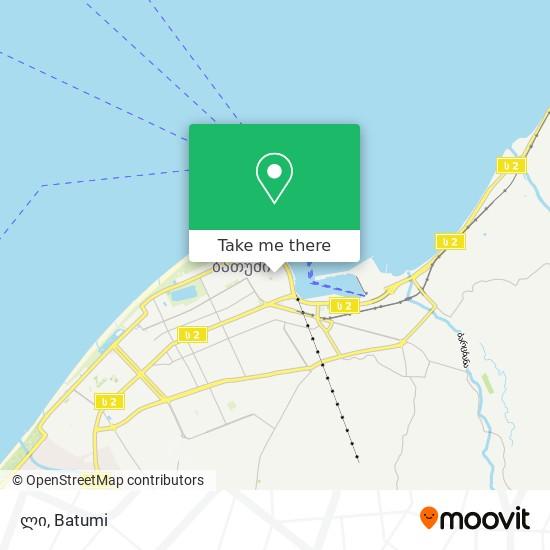 ლი map