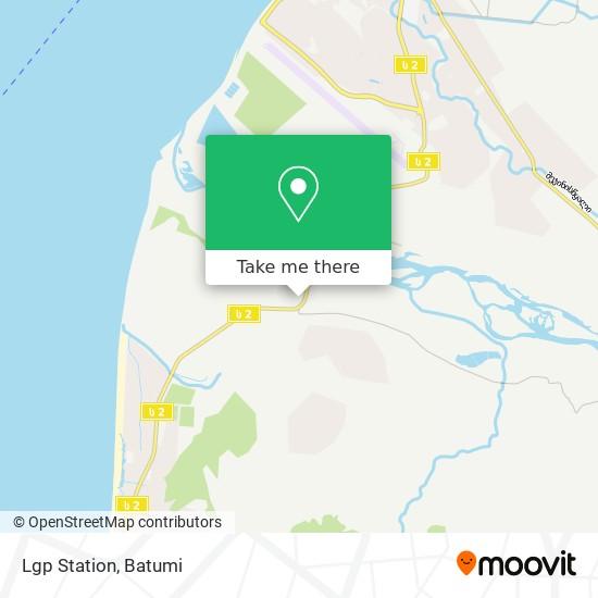 Lgp Station map