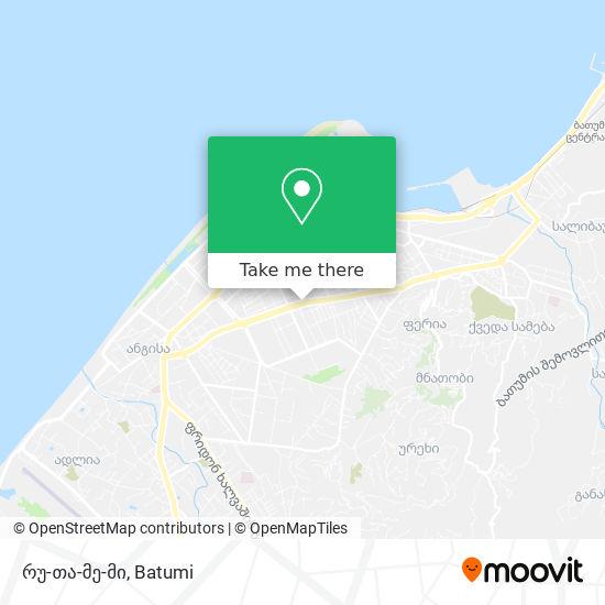 რუ-თა-მე-მი map