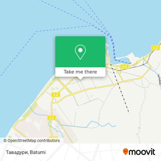 Тавадури map