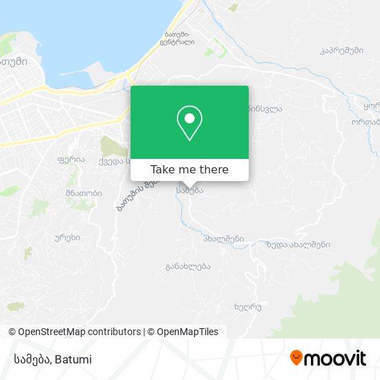 სამება map