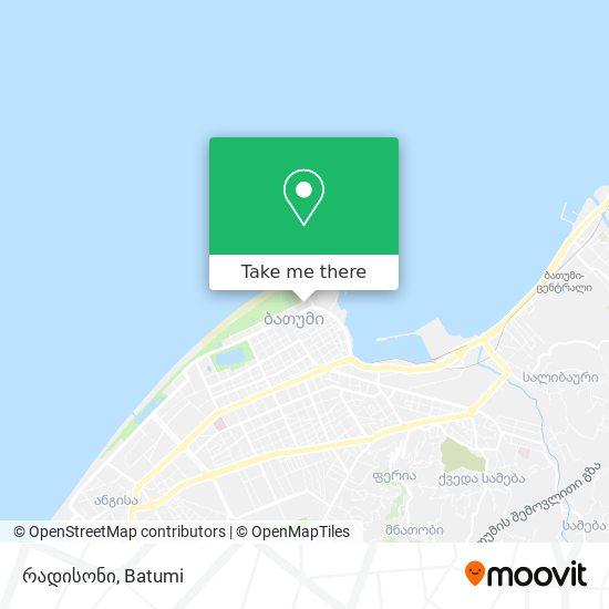 რედისონი map