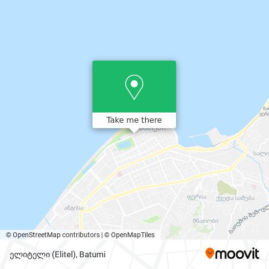 ელიტელი (Elitel) map