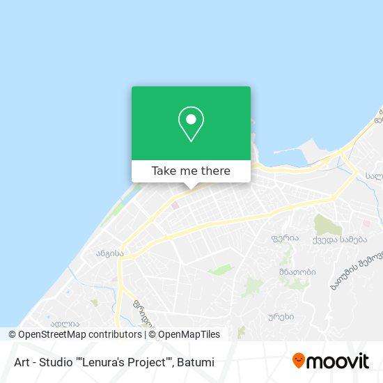 "Art - Studio """"Lenura's Project"""" map"