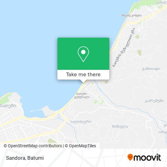 Sandora map