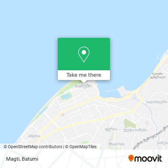 Magti map