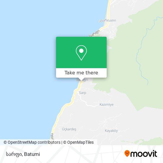 სარფი map