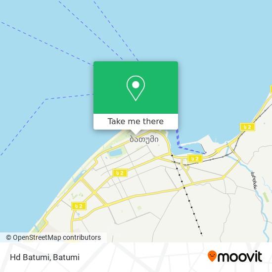 Hd Batumi map