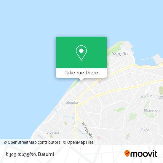 სკაუ თაუერი map