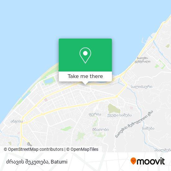ძრავის შეკეთება map