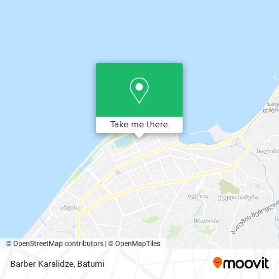 Barber Karalidze map