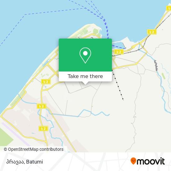 პრავაა map