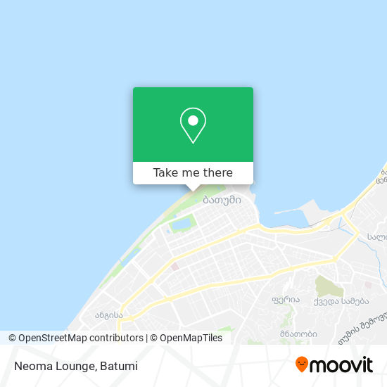 Neoma Lounge map