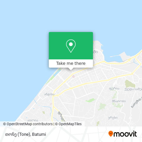 თონე (Tone) map