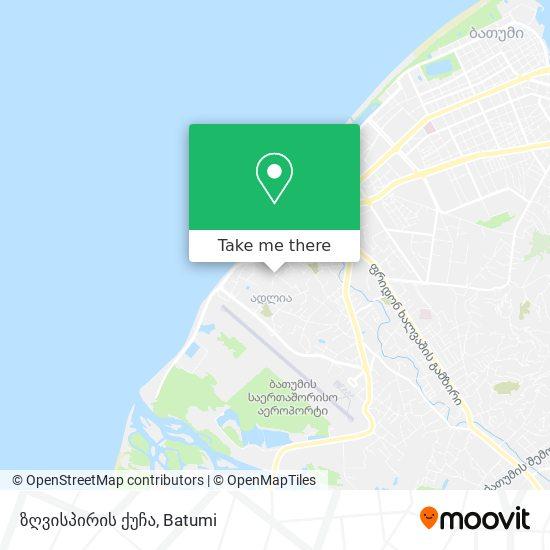 ზღვისპირის ქუჩა map