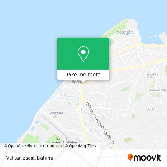 Vulkanizacia map