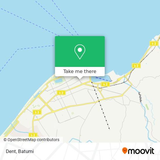 Dent map