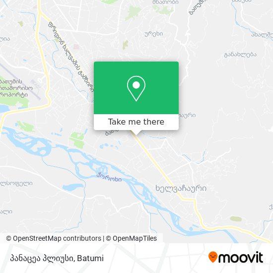 პანაცეა პლიუსი map