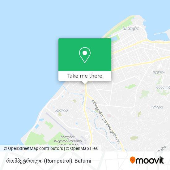 რომპეტროლი (Rompetrol) map