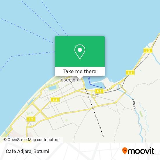 Cafe Adjara map