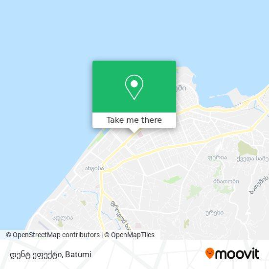 დენტ ეფექტი map