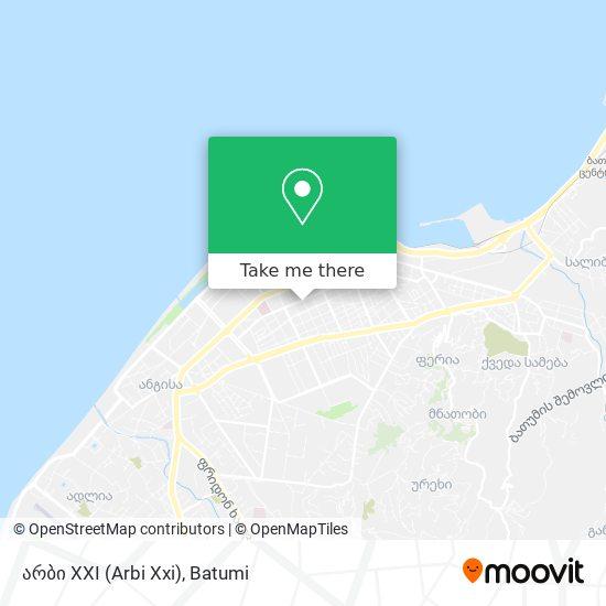 არბი XXI (Arbi Xxi) map