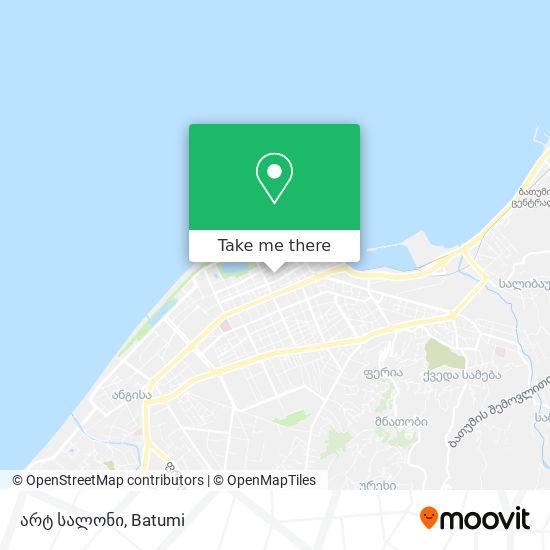 არტ სალონი map