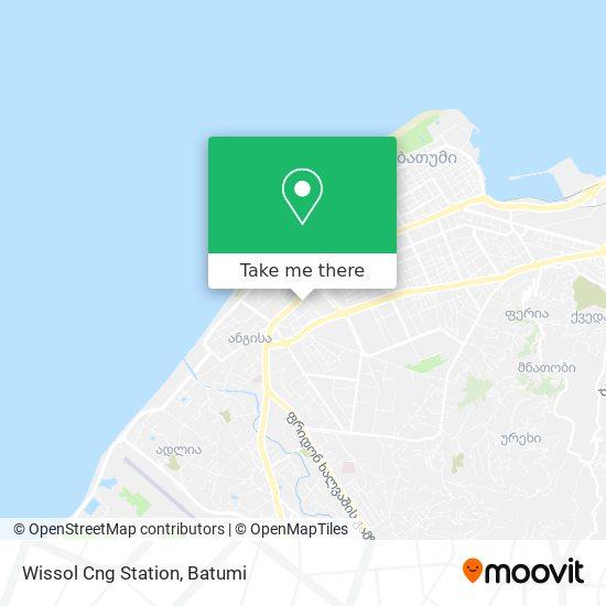 Wissol Cng Station map