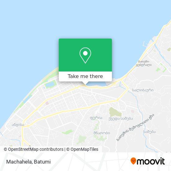 Machahela map