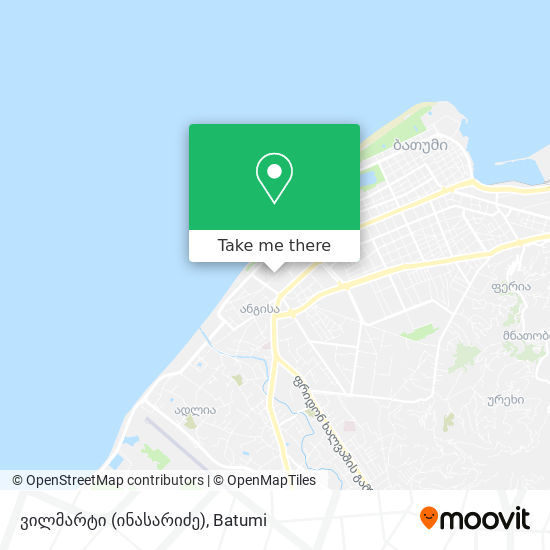 ვილმარტი (ინასარიძე) map
