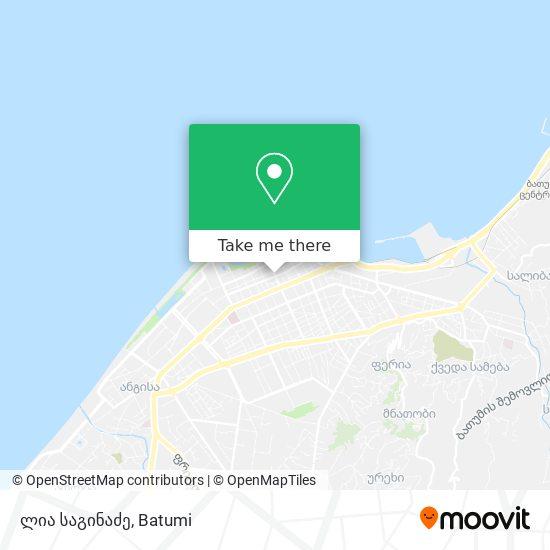 ლია საგინაძე map