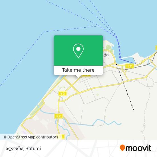 ალორა map