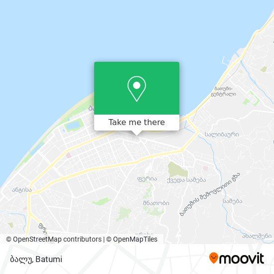 ბალუ map