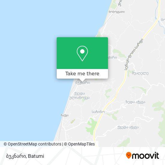 ბუკნარი map