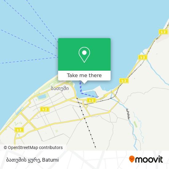 ბათუმის ყურე map
