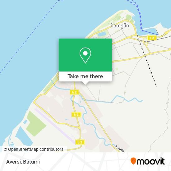 Aversi map
