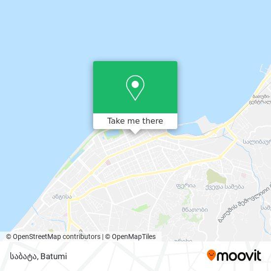 საბატა (Sabata) map