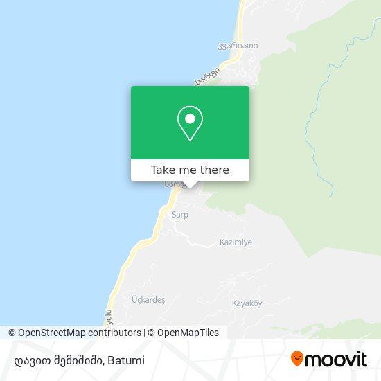 დავით მემიშიში map