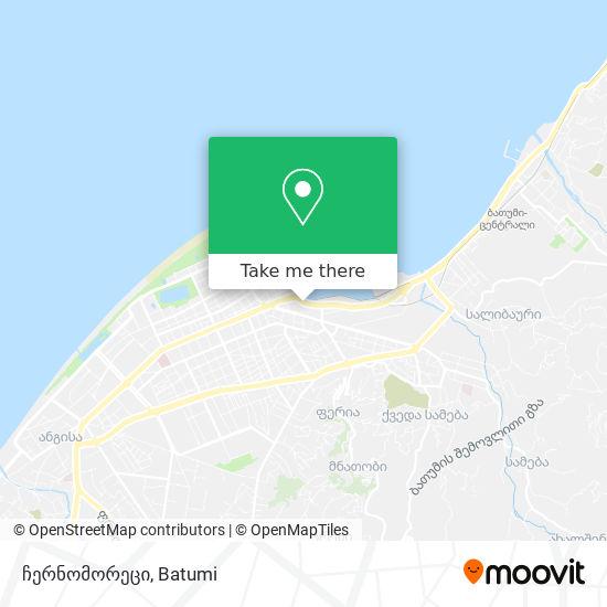 ჩერნომორეცი map