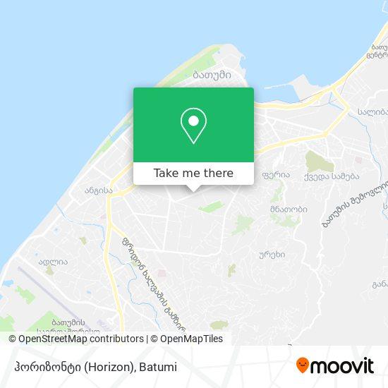 ჰორიზონტი (Horizon) map