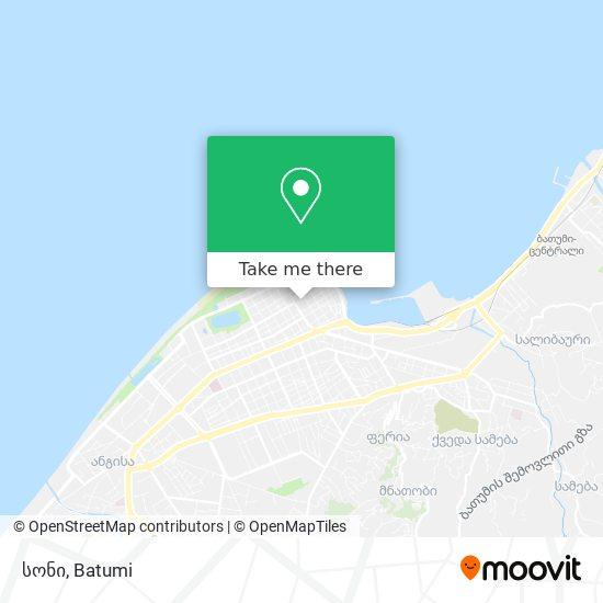 სონი map