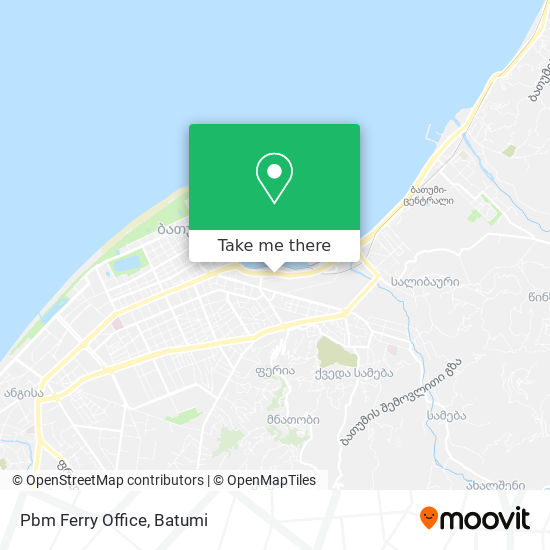 Pbm Ferry Office map