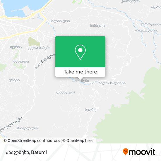 ახალშენი map