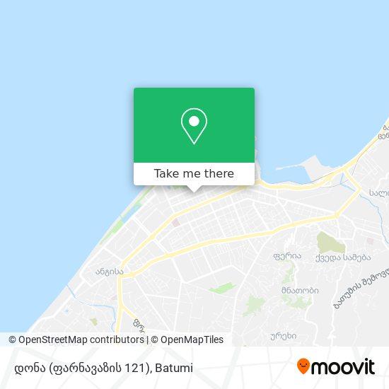 დონა (ფარნავაზის 121) map