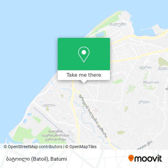 ბატოილი (Batoil) map