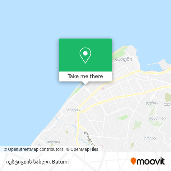 იუსტიციის სახლი map