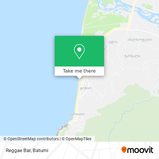 Reggae Bar map
