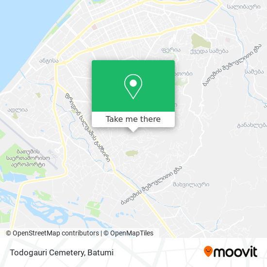 Todogauri Cemetery map