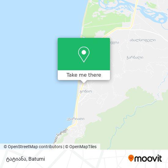 ტატიანა map