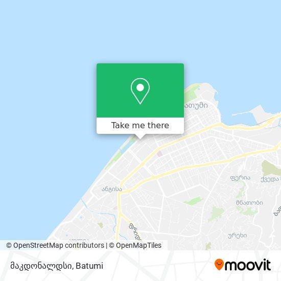 მაკდონალდსი map